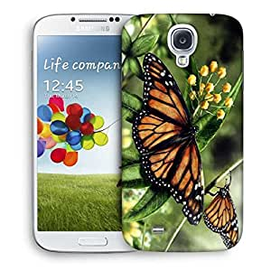 Snoogg Butterfly In A Pair Designer Protective Phone Back Case Cover For Samsung Galaxy S4