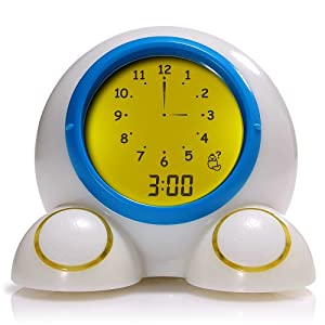 American Innovative Teach Me Time Talking Alarm Clock and Nightlight
