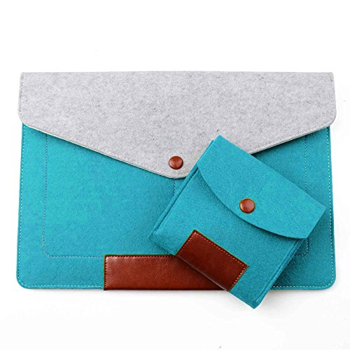 Phenas Felt 13.3 Inch Sleeve Cover Carrying Case Laptop Bag for Apple 13
