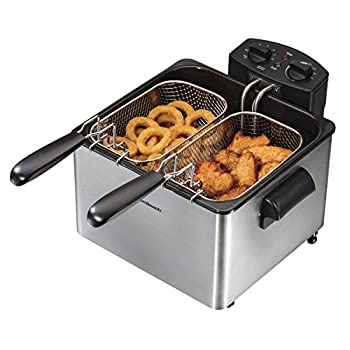 Hamilton Beach Electric Deep Fryer, 4.5-Liter Oil Capacity (35034)