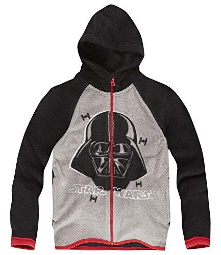 Star Wars-The Clone Wars Darth Vader Jedi Yoda Ragazzi Giacca in pile - grigio - 128