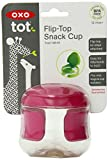 OXO Tot Flip Top Snack Cup (Raspberry)