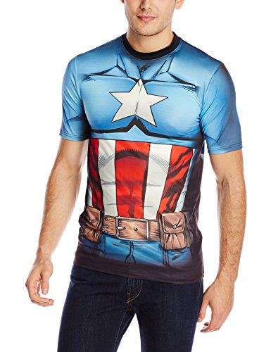 Marvel Captain America Men's Cappin Stance T-Shirt