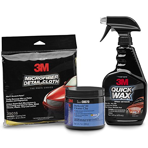 Top products best review 3m 39119 premium clay cleaning kit automotive car care interior care for Best interior car care products