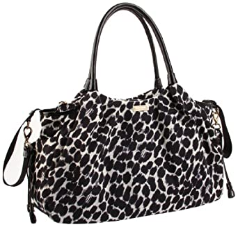 Kate Spade Stevie Baby Bag,Black/Cream,one size