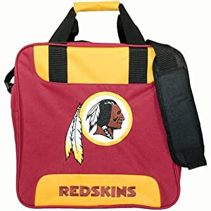 KR NFL Single Tote Washington Redskins Bowling Bag by KR