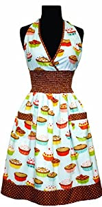 asd Living Loretta Apron with Cutie Pie Design by Butcher Aprons