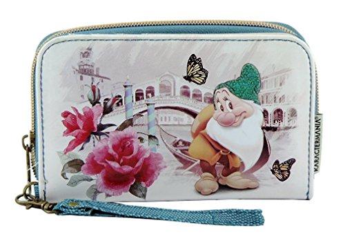 Portafoglio da donna Disney Sette Nani MAMMOLO con portamonete e porta documenti