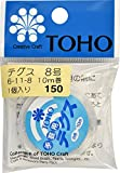 TOHO テグス 太さ約0.47mm×約10m巻 6-11-8 (8号) スキ