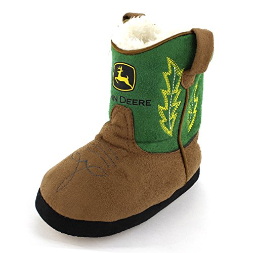 deere toddler green cowboy boot slippers slippers store