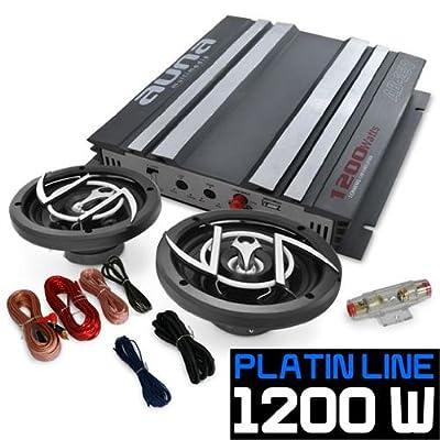 Car Hifi Set Platin Line 200 Boxen Endstufe 1200W von Auna bei Reifen Onlineshop