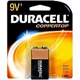 Duracell Batteries / 9Volt - size battery