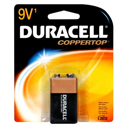 Duracell Batteries / 9Volt - size battery