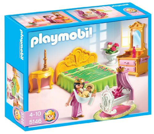 Playmobil Royal Bed Chamber With Cradle front-470822