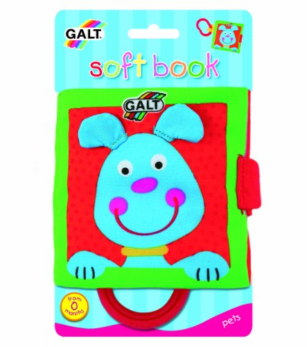 Galt Toys Inc First Years Pets Soft Book