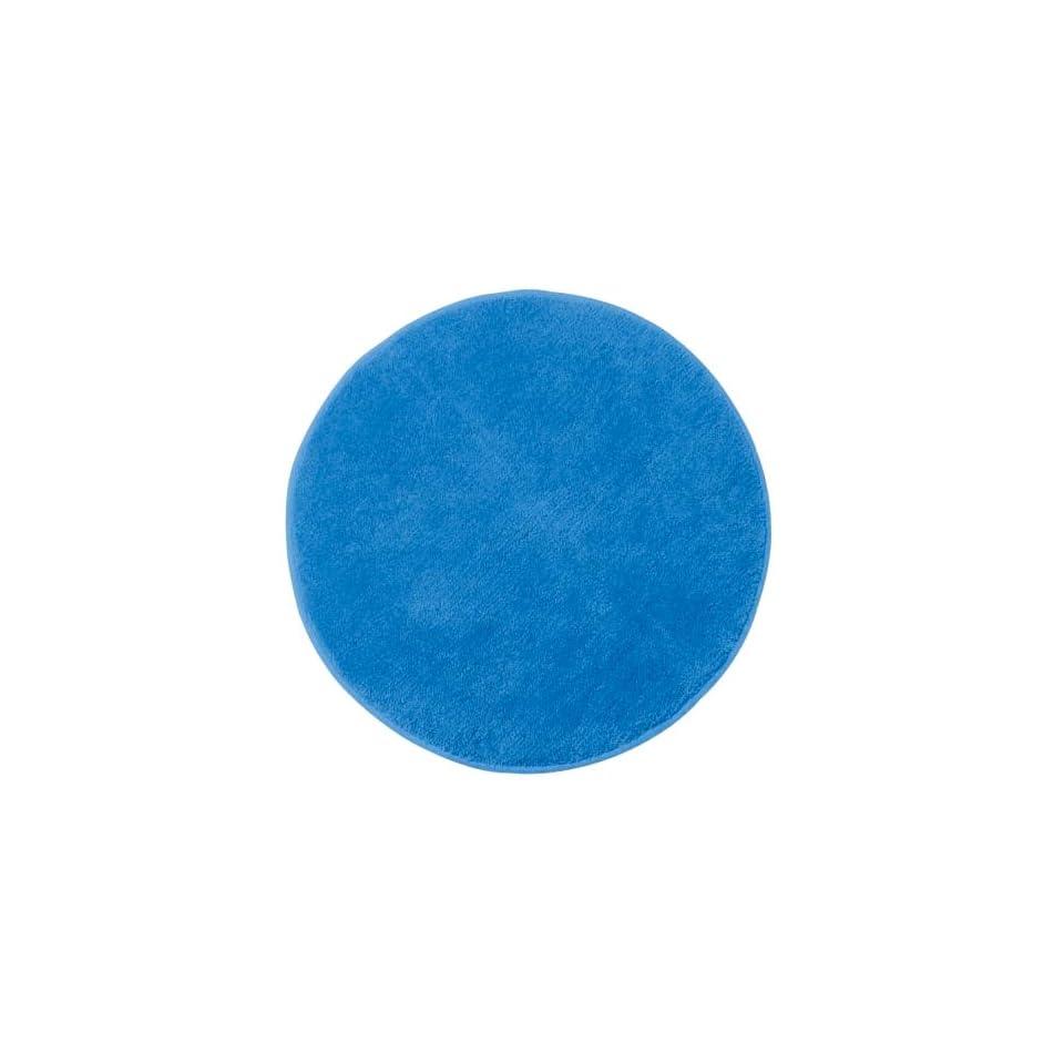 Ikea Saxan Round Bath Bathroom Mat Rug Turquoise Blue