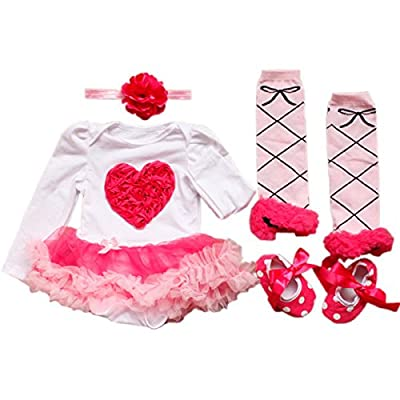 Baby Tutu Dress Online for Valentines Day by TANZKY