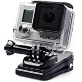 XCSOURCE® 360 degree Rotary Backpack Hat Rec-Mounts Clip Clamp Mount for GoPro Hero 2 3 3+ OS102