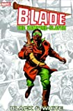 Blade: Black & White TPB (0785114696) by Claremont, Chris