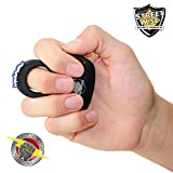 Streetwise Sting Ring 18 Million Volt Stun Gun Perfect Back to School Discrete Defense Rechargeable Black
