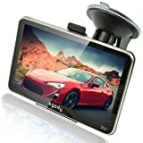 Xgody 5 Inch Portable Car GPS Navigation Sat Nav Touch Screen Built-in 4GB 128MB RAM FM MP3 MP4 Lifetime Map WinCE6.0