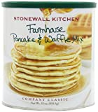 Stonewall Kitchen Farmhouse Pancake and Waffle Mix, 33-Ounce Cans (Pack of 2)