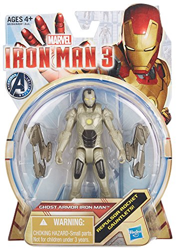 Iron Man 3 Ghost Armor Iron Man 3.75 inch Action Figure by Hasbro - 1