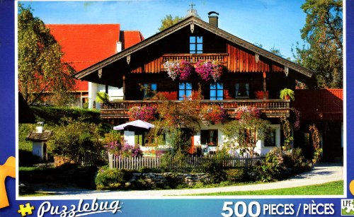 Traditional Farmhouse - Bavaria Germany - Puzzlebug - 500 Pc Jigsaw Puzzle - NEW