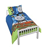 Character World Thomas Steam Panel Duvet Set, Juniorby Character World