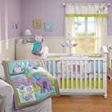Dreamland 5 Piece Baby Crib Bedding Set with Bumper by Nojo