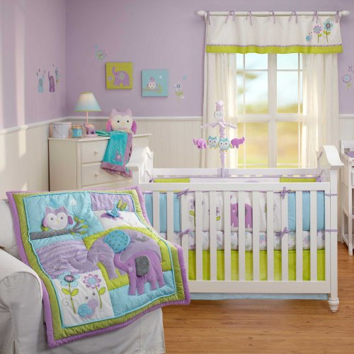 Nice Dreamland Piece Baby Crib Bedding Set with Bumper by Nojo