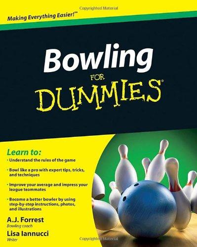 Bowling For Dummies PDF