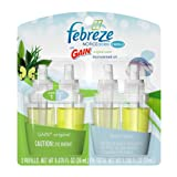 Febreze Noticeables Gain Original Air Freshener Refill (2 Count; .879 Fl Oz Each), 1.758 Ounce