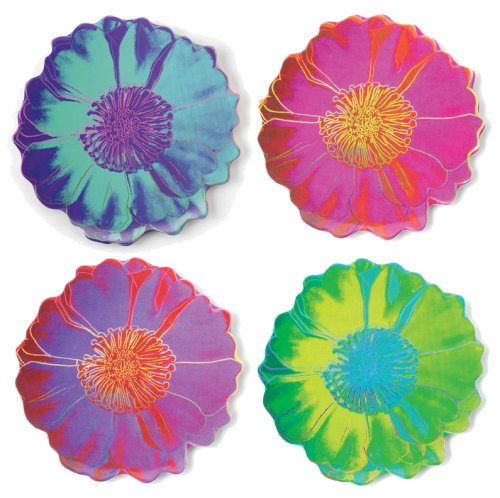 Buy Precidio Objects 9431H99-AM107 Andy Warhol Tacoma Daisy Plates s/4