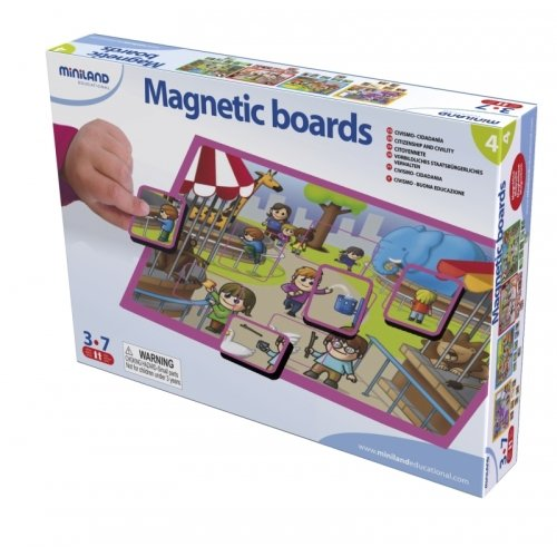 Miniland Environment And Recycling Magnetic Boards front-590390