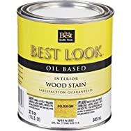 - W44N00802-44 Best Look Interior Wood Stain-OAK INTERIOR WOOD STAIN
