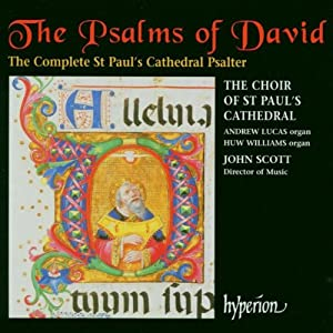 The Psalms Of David - The Complete St Pauls Cathedral Psalter by Hyperion