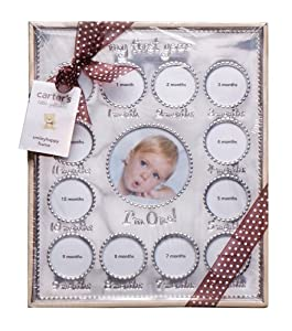 Carter's Year of Photos Frame - Silver