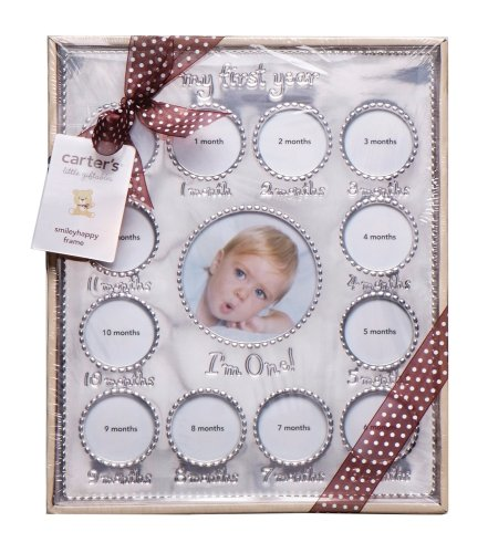Carter's Year of Photos Frame - Silver - 1
