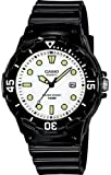 Casio #LRW200H-7E1V Women's Black Resin Strap 100M Sports Analog Watch