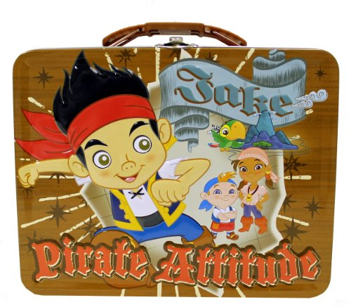 The Tin Box Company Jake and The Neverland Pirates Tin Box (Styles May Vary) - 1