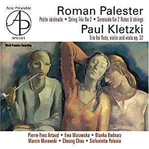 Palester - Kletzki: Works with Flute