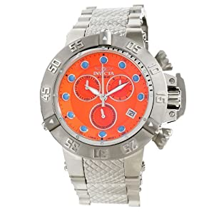 Invicta Men's 12727 Bolt Quartz Chronograph Titanium Dial Watch