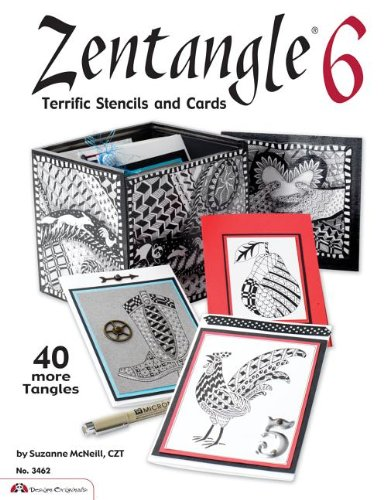Zentangle 6: Terrific Stencils and Cards (Design