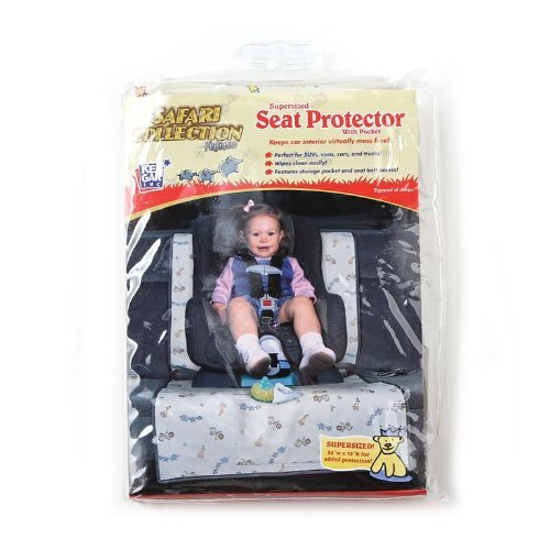 Seat Protector with Pocket-Platinum