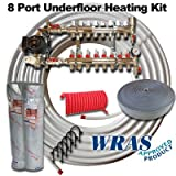 UNDERFLOOR HEATING WET KIT MULTI ROOM UPTO 160SQM or 8 CIRCUITS PLUS 8 SFUF