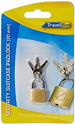 Travel Blue Security Padlock (20)