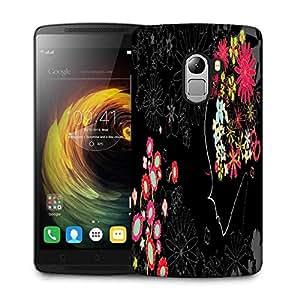 Snoogg Flower Girl Designer Protective Phone Back Case Cover For Lenovo Vibe K4 Note