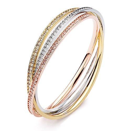 myjs-trinity-tri-gold-plated-interlocking-eternity-crystal-bangles-bracelet