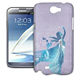 Phone Case For Samsung Galaxy Note II - Elsa Frozen Let It Go Hardshell Cover